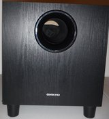 Onkyo Passive Subwoofer ~ 130W in Chicago, Illinois