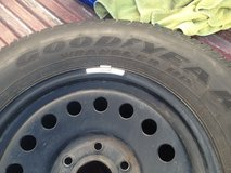 Goodyear Wrangler  P265/70 R17 Tire  & rim in Alamogordo, New Mexico