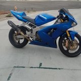 2003 Kawasaki ZX636-B1 Ninja ZX-6R in Camp Pendleton, California