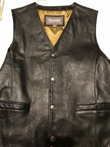 Mens Leather Vest in Conroe, Texas