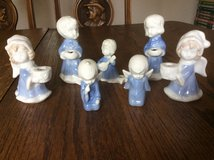 Ceramic small angel candle holders in Ramstein, Germany