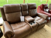 Basset Power Loveseat (Small touch up on back) w/Sofa Available for $1299.00 in Clarksville, Tennessee