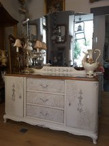 Classically elegant, vintage, rococo style Vanity / Dressing Table Shabby Chic in Ramstein, Germany