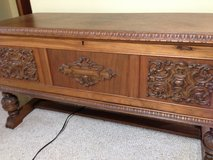 Ed Roos 1930's Cedar Chest in Plainfield, Illinois