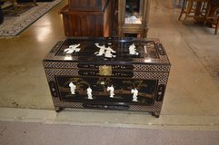 Black Lacquer & Mother of Pearl Trunk in Fort Lewis, Washington