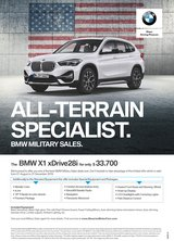 2020 BMW X1 xDrive 28i Special Promotion in Hohenfels, Germany