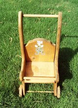 Wooden Baby Doll Stationary Stroller in Alamogordo, New Mexico