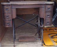 Antique Sewing Console in Naperville, Illinois