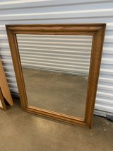 Wood framed mirror in Westmont, Illinois
