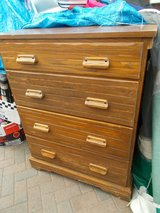 REDUCED Solid 4 Drawer Chest in Lakenheath, UK