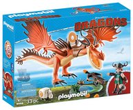 PLAYMOBIL 9459 How to Train Your Dragon Snotlout with Hookfang NEW in Kingwood, Texas
