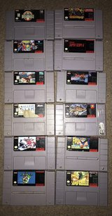 SNES games in The Woodlands, Texas