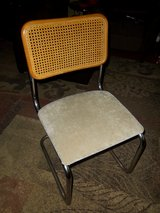 Breuer Chairs, Vintage 1978, Set of 4, with replacement seats in Baytown, Texas