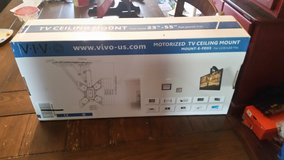 Vivo motorized tv ceiling wall mount in The Woodlands, Texas