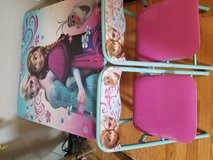 Princess table and chairs in Naperville, Illinois