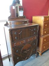 Ornate Vintage Dresser with Mirror in Westmont, Illinois