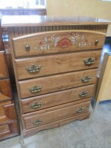 Bureau with Painted Accents in Glendale Heights, Illinois