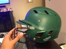 Schutt batters helmet (medium) w/ face mask in Chicago, Illinois