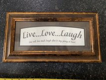 Live Love Laugh Wall Art in Okinawa, Japan