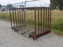 Metal Rolling Rack, all Steel, 6 Slots in Cherry Point, North Carolina
