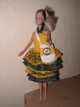 Hand Crochet Barbie Doll Dress w/ removable pin in Fort Hood, Texas