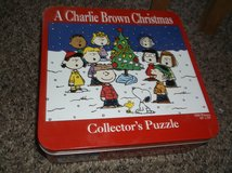 snoopy collectible puzzle in tin  new in Alamogordo, New Mexico