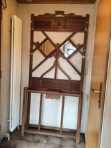 Antique Hall Tree with small Drawer Reduced in Stuttgart, GE