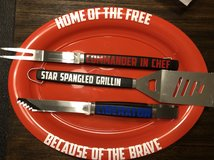 Patriotic Grill set in Fort Campbell, Kentucky
