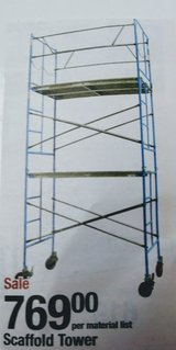 New Condition 3 Tier Scaffolding in Glendale Heights, Illinois