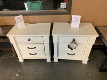 Night Stands from the Tent Sale in Fort Campbell, Kentucky