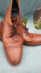 JOHNSTON & MURPHY Handmade Leather Formal Boots in Bellaire, Texas