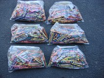 BAG OF 160 USED CRAYONS in Chicago, Illinois