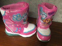 Paw patrol boots in Okinawa, Japan