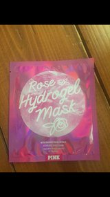 PiNK hydrogel Mask ! Rose in Okinawa, Japan