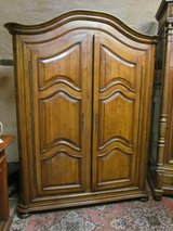 Lorraine Baroque style oak wardrobe in Ramstein, Germany