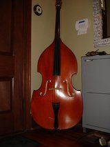 Vintage Full Size Upright Bass in Wilmington, North Carolina