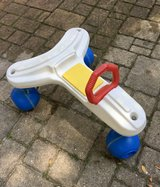 Vintage Fisher Price 1986 Childs Push Scooter/Car - Very Rare in Westmont, Illinois