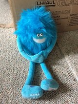 "Cricket Wireless Mascot Limited Edition Barry 16"" Blue Stuffed Animal Plush in Glendale Heights, Illinois"