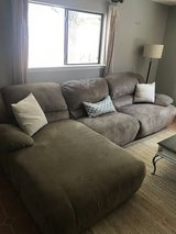 Reclining Couch with Chaise in Alamogordo, New Mexico