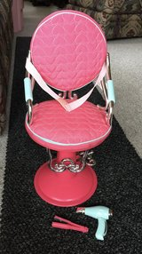 Our Generation Sitting Pretty Doll Salon Chair in Chicago, Illinois