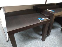 3 Small Black Square Tables in Bartlett, Illinois