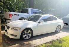 **NOT FLOODED** 2007 BMW 335i Automatic Coupe White 2 Door in Kingwood, Texas