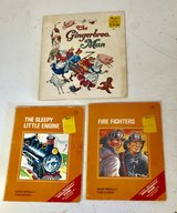 3 Vintage Children's Books - The Gingerbread Man; The Sleepy Little Engine book; Fire Fighters Book in Westmont, Illinois