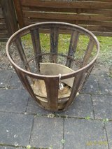 "Vintage Cast Iron Basket 22""L X 22"" D in Ramstein, Germany"