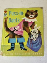 Vintage Puss-in-Boots Book 1955 in Westmont, Illinois