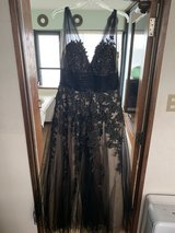 Authentic Jovani Ball Gown Size 12 Gently Used in Okinawa, Japan