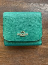 Authentic Coach Green Wallet in Okinawa, Japan