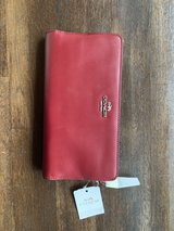 Authentic Coach Red Purse in Okinawa, Japan
