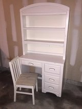 Solid wood Broyhill desk in Fort Riley, Kansas