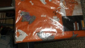 halloween  dog table cloth new  60 x 84 in Alamogordo, New Mexico